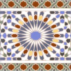 Andalusi Border плитка настенная 20x20