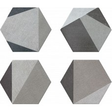 HEXTANGRAM FABRIC GREY 33*28,5