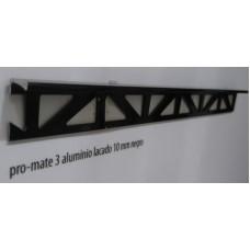10x3x2500 Pro-Mate 3 Aluminium Anodizado Black Matt