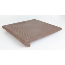 Step Coner DEG.CASTA ESQ.RUBI BROWN 34*34*5 th-15mm