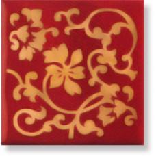 Декор Inserto Glam Rosso