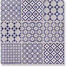 Декор Deco Cobalto (микс) 10x10