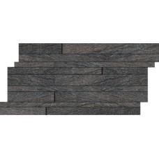 Muretti Percorsi Quartz Black 10,5х45