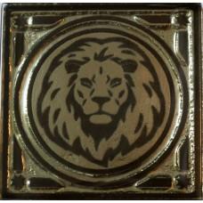 Gold lion 6.7*6.7