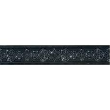 Бордюр Newluxe Black Bordo 6х30,5