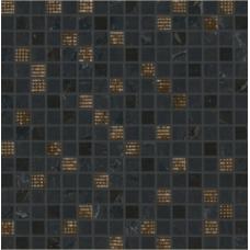 Декор Newluxe Black Tessere Riv 30,5х30,5