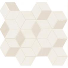 Декор Newluxe White Tessere Rombi 26х28
