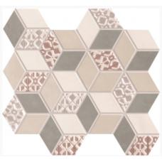 Декор Work Mix Gloss Rombi 26х28