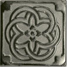 Вставка из бронзы с покрытием никель Kavarti Nickel Kaleidoscope 7,5x7,5