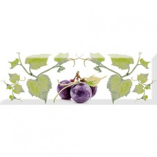 Decor Grapes 03 10x30