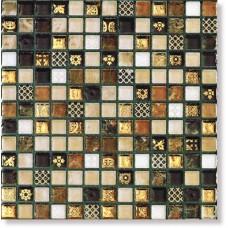 Мозайка Mosaico RYAD GOLD CREMA  (1.5*1.5)