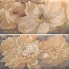 Magnolia Natural Панно (из 2-х плиток) 60x60