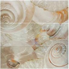 MUSEUM Decor Caracolas Nacar 60 x 60 (комплект из 3-х шт)