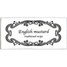Devon Dec. Mustard Super White 7.5x15