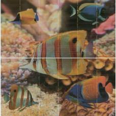 Sunset Aquarium (панно из 2-х шт)