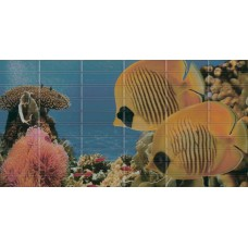 Sunset Decor 3 Aquarium (2 рыбки)
