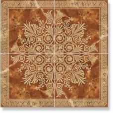 Панно Duomo Dec. Quorum Coral Oro (4шт по 45х45)