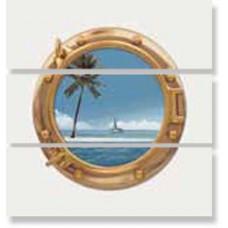 Панно СД060 MARITIMA DEC LISO ILLUMINATOR MALDIVES 3PZ