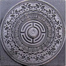 Creta Satined Black Silver 8х8
