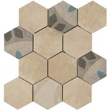 Carpet esagona Sabbia 30x30