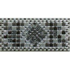 Andros Gris вставка настенная 6x15