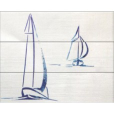 Decor Set (3) Wind Blue